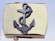 Brass Money Clip (Anchor)