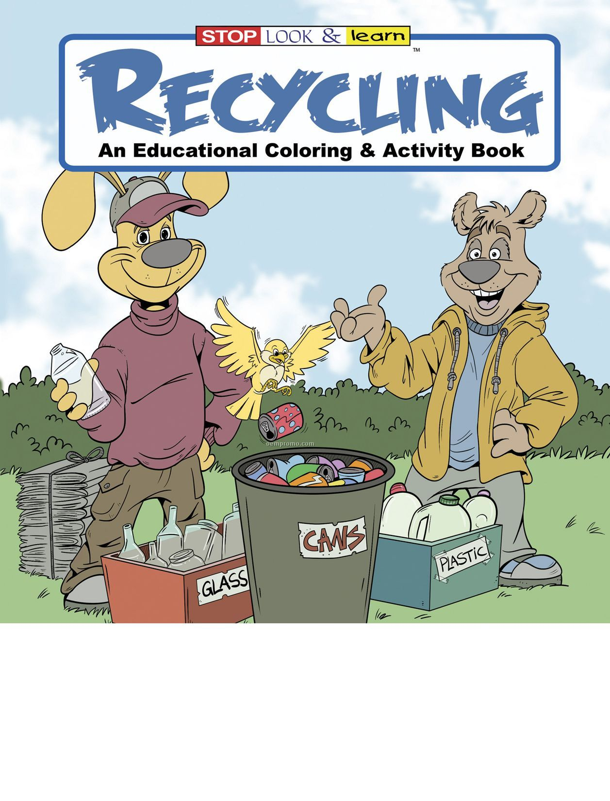 Recycling Coloring Book Fun Pack