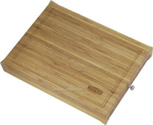 Bamboo Cutting Board W/Knives