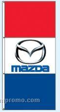 Double Face Dealer Rotator Drape Flags - Mazda