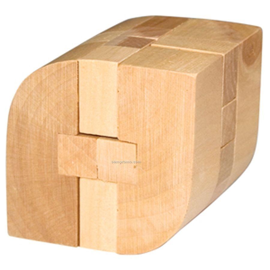 Rhombus Wooden Puzzle