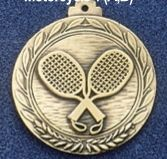 "2.5"" Stock Cast Medallion (Racquetball)"