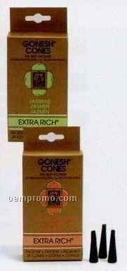 Gonesh Classic Incense Cones Herbs & Flowers