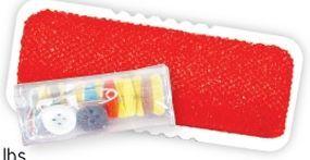 Lint Brush & Sewing Kit (Printed)
