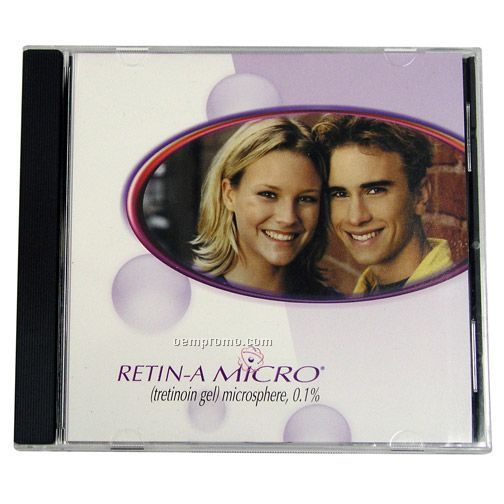 Standard CD Jewel Case With Custom Print