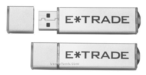 Temi Silver USB Flash Drive (1 Gb)