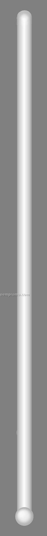 "D50 7"" Round Crystal Rod Stirrer"