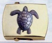 Brass Money Clip (Turtle)