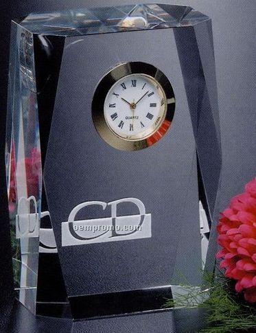 Clock Gallery Crystal Dunbar Optical Clock