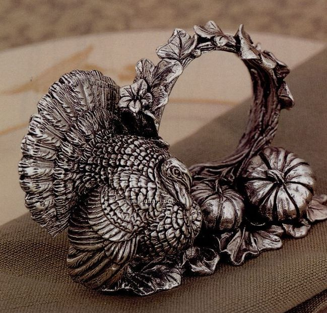The 1824 Collection Silverplated Turkey Napkin Ring