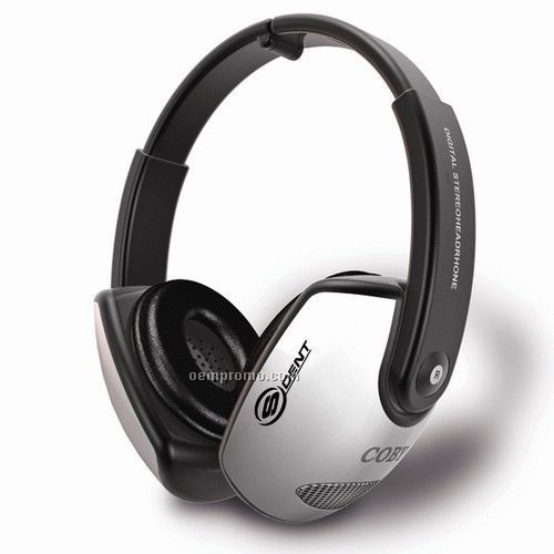 "5.31""X7.17""X2.05"" Full Size Folding Headphone With Volume Control"
