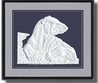 Limited Edition Out Of The Blue Sculptured Print Artwork