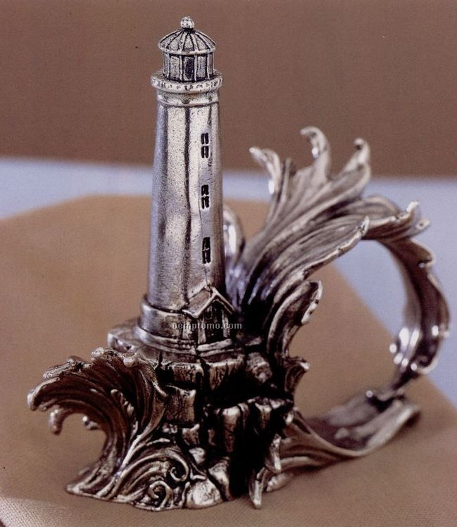 The 1824 Collection Silverplated Lighthouse Napkin Ring