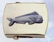 Brass Money Clip (Bull Dolphin)