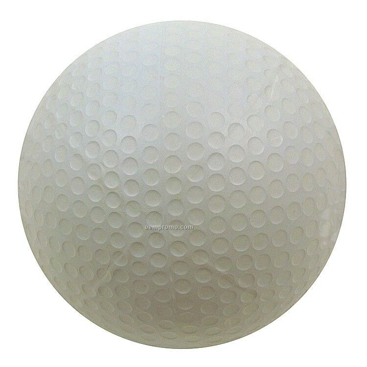 Rubber Dimpled Golf Ball