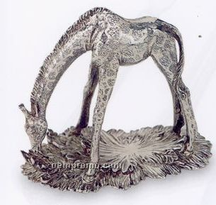 The 1824 Collection Silverplated Giraffe Napkin Ring