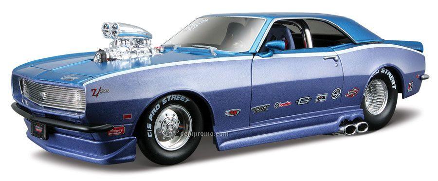 """7""""X2-1/2""""X3"""" 1968 Chevrolet Camaro Z/28 All Star Series Die Cast Replica"""