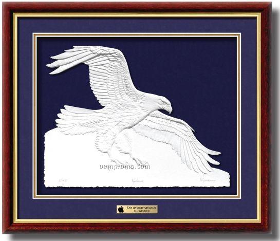 Limited Edition Vigilance Sculptured Print Artwork