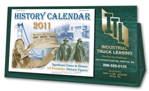 Paper-u-holder With Calendar Pad