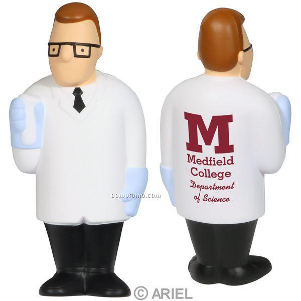 Scientist Squeeze Toy