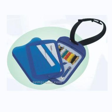 Luggage Tag W/Sewing Kit