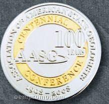 "1-1/4"" Custom Nickel Silver Coins"