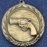 """2.5"""" Stock Cast Medallion (Revolver)"""