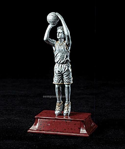"Basketball, Male Signature Series Figurines - 8"""
