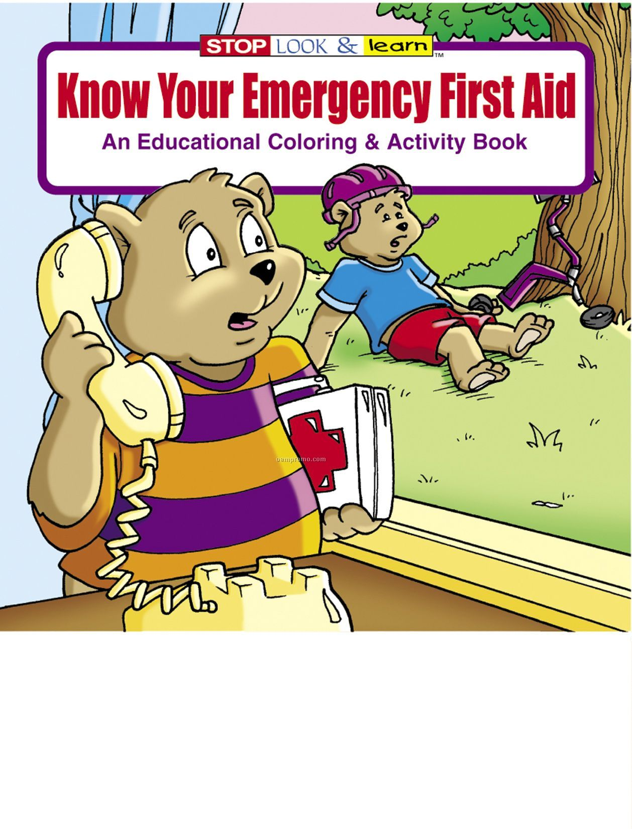 know your emergency first aid coloring book fun pack - Aid Coloring Pages Kids