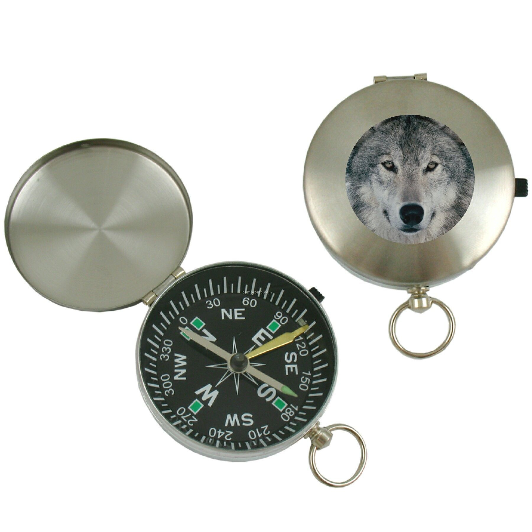 Stainless Steel Compass (Full Color Process)