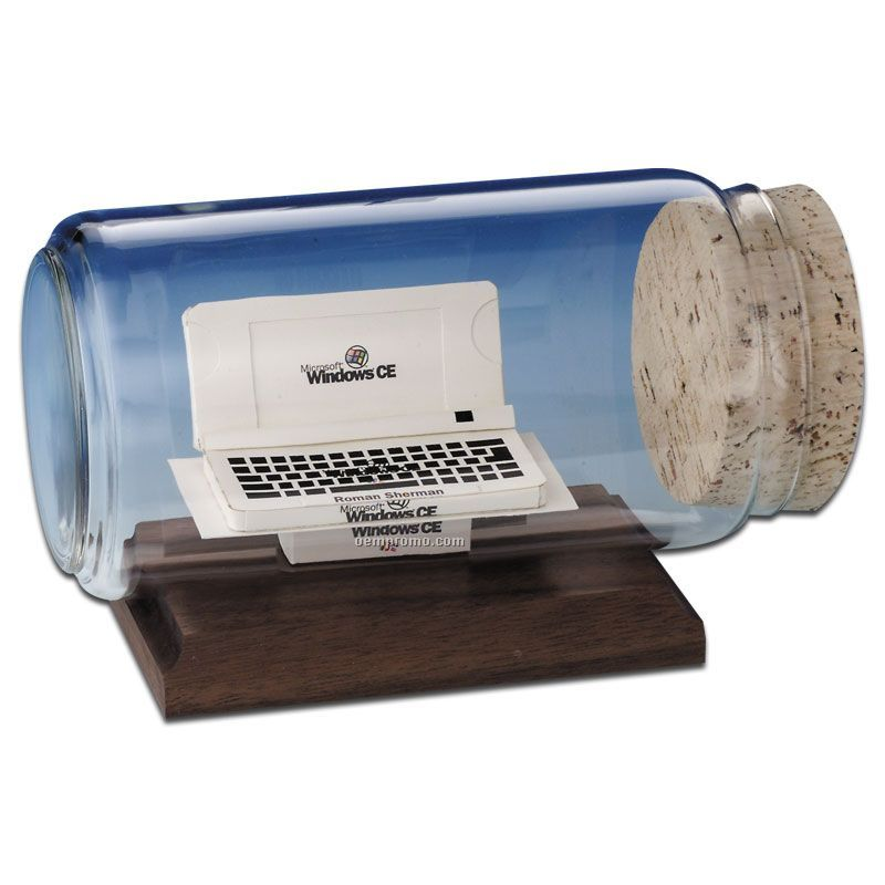 Stock Business Card Sculpture In A Bottle - Laptop,China Wholesale ...