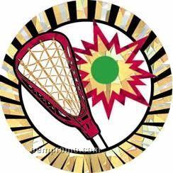 """Sunburst Hologram Mylar Insert - 2"""" Lacrosse"""