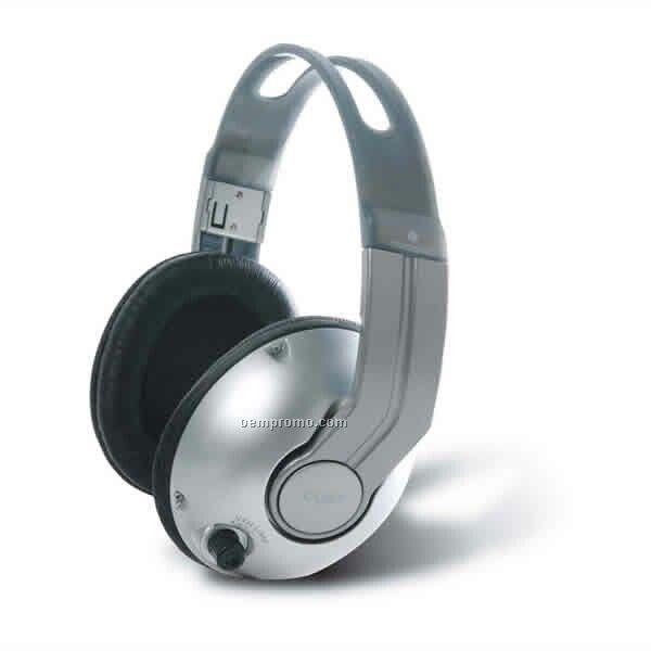 Dual Volume Control Stereo Headphone