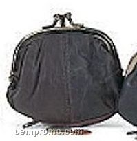 """Coin Purse With Double Metal Frame (4"""")"""
