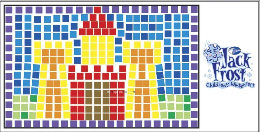 Mosaic Craft Kit - Castle