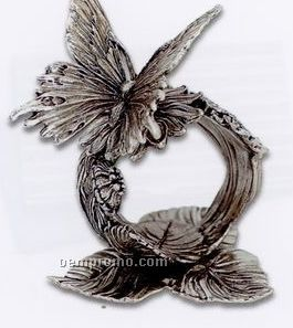 The 1824 Collection Silverplated Butterfly Napkin Ring
