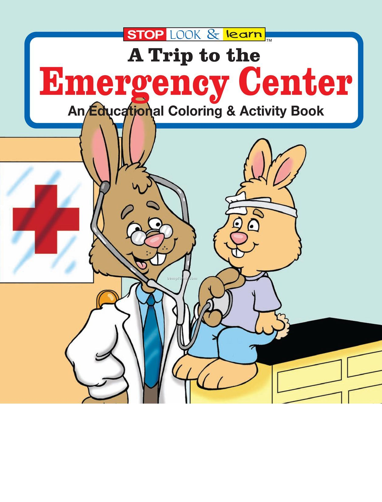 A Trip To The Emergency Center Coloring Book Fun Pack