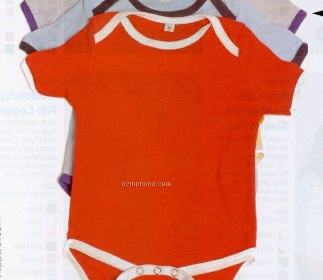Baby Onesie Lap Neck Onesie (3m-24m)