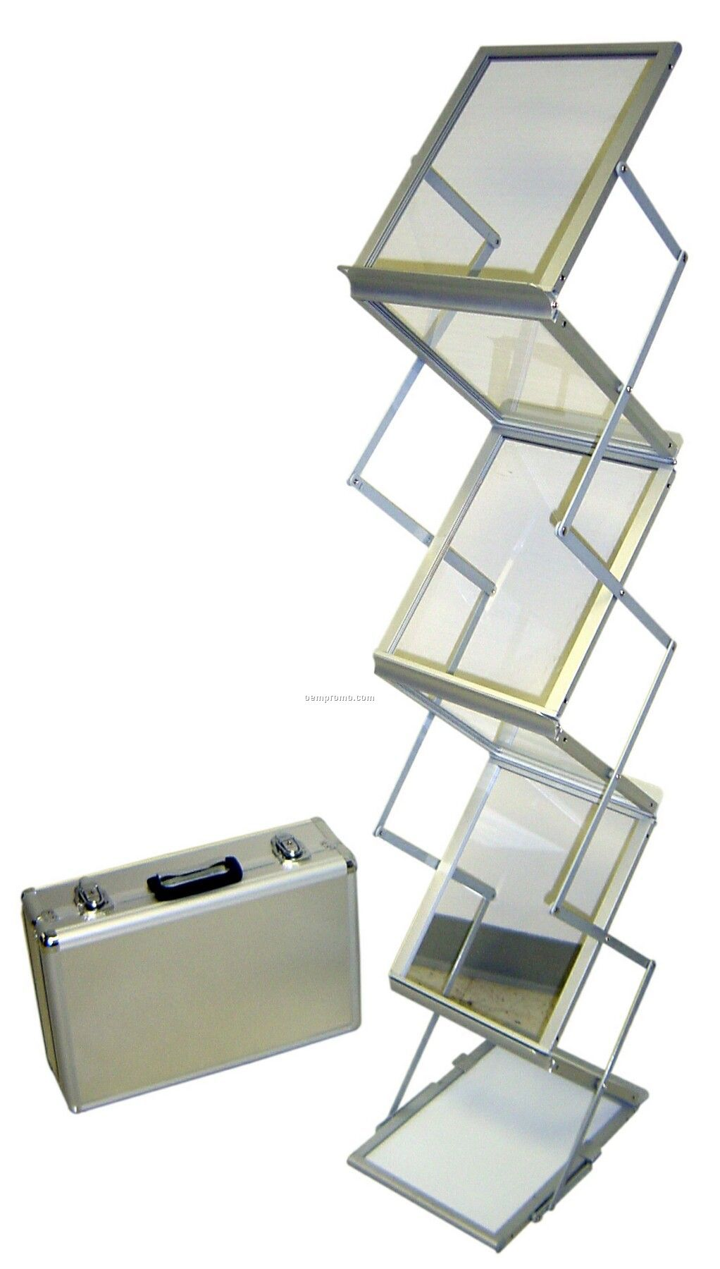 Double-sided Accordion Design Literature Holder