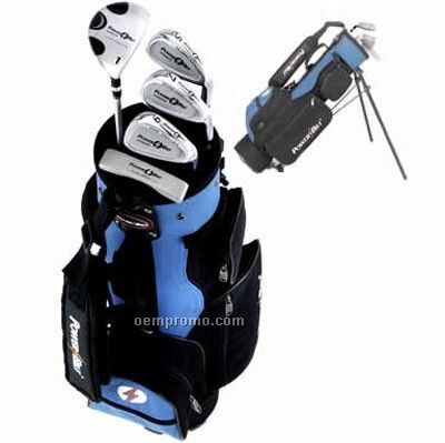 Power Bilt Silver 4.4 Series Junior Complete Golf Set - 6 To 9 Yrs