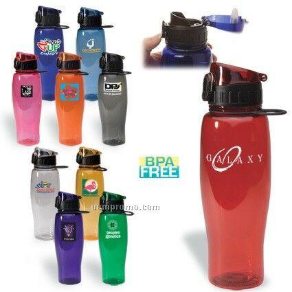 24 Oz. Flip-top Bottle Bpa Free