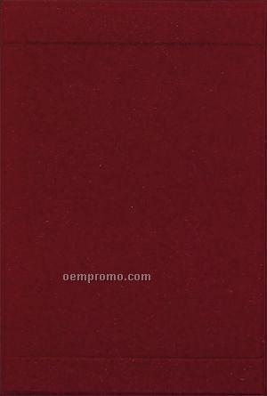 Oakmont Padded Menu Cover - 2 View/1p (8-1/2
