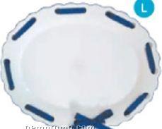 Ribbon Specialty Round Platter