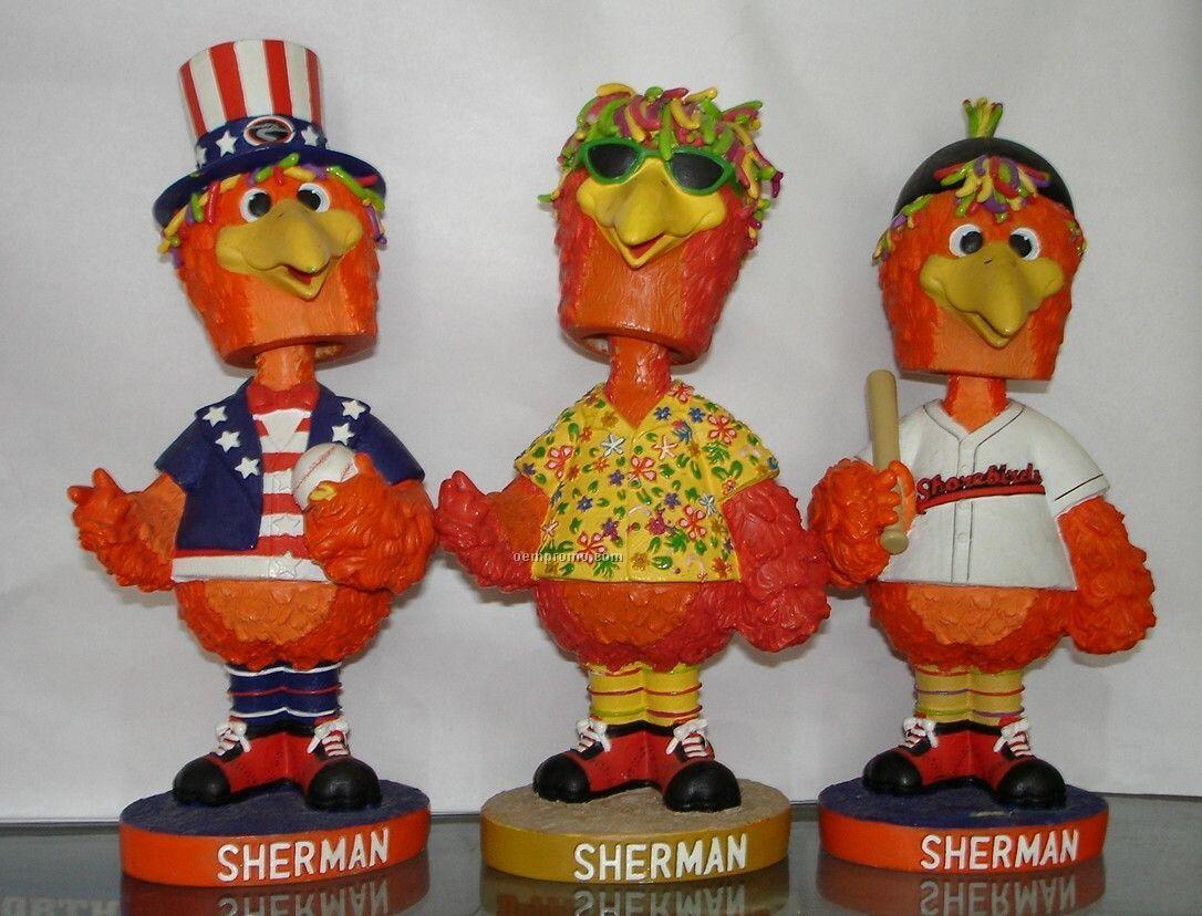 Sherman Bobble Head Doll