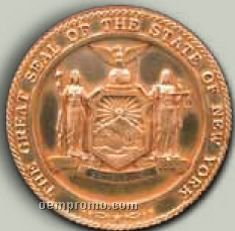 "Single Color Logo Creation Custom Premium Seal (38"")"