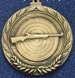 "2.5"" Stock Cast Medallion (Rifle)"