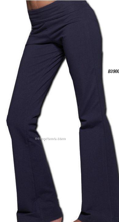 Bella Ladies Cotton Spandex Fitness Pant (2xl)