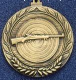 "1.5"" Stock Cast Medallion (Rifle)"