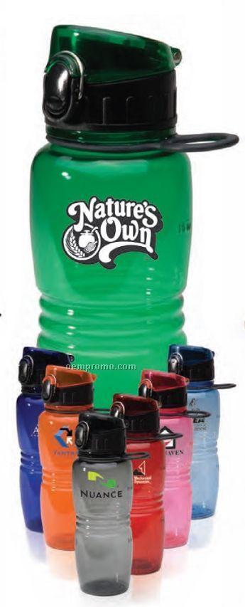 16 Oz. Bpa Free Junior Flip Top Bottle