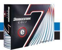 Bridgestone E7 Golf Ball - Lower Trajectory / Long Distance - 12 Pack